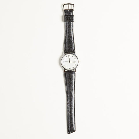 Vintage Timex Black & White Marlin Watch