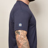 SALE THIS WEEKEND ONLY Navy with Green Camo Print Pocket Tee