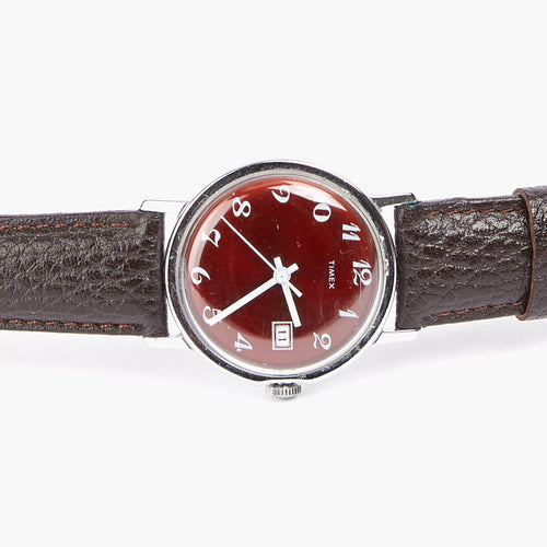 Vintage Red Timex Watch