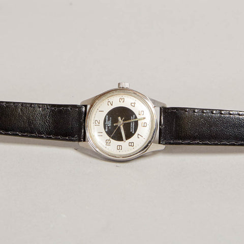 Vintage Henri Sandoz Graphic Circle 1970's Watch