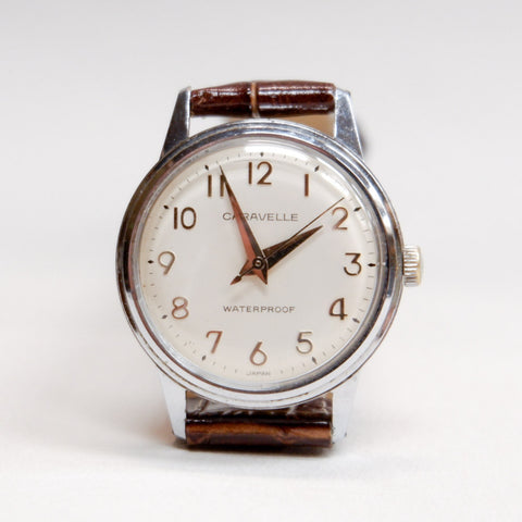 Vintage 1967 Caravelle Dress Watch