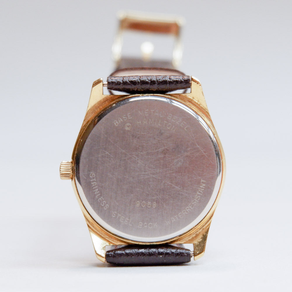 Vintage Hamilton Gold Tone Watch