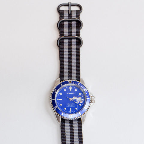 Vintage Aureole Blue Diver's Watch
