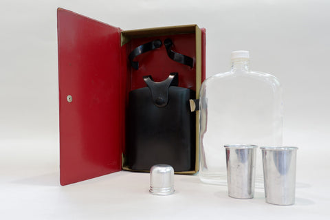 """How to Develop Courage & Self Confidence"" Travel Flask Set"