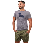Olive Cotton Stretch Twill Shorts - Made in USA