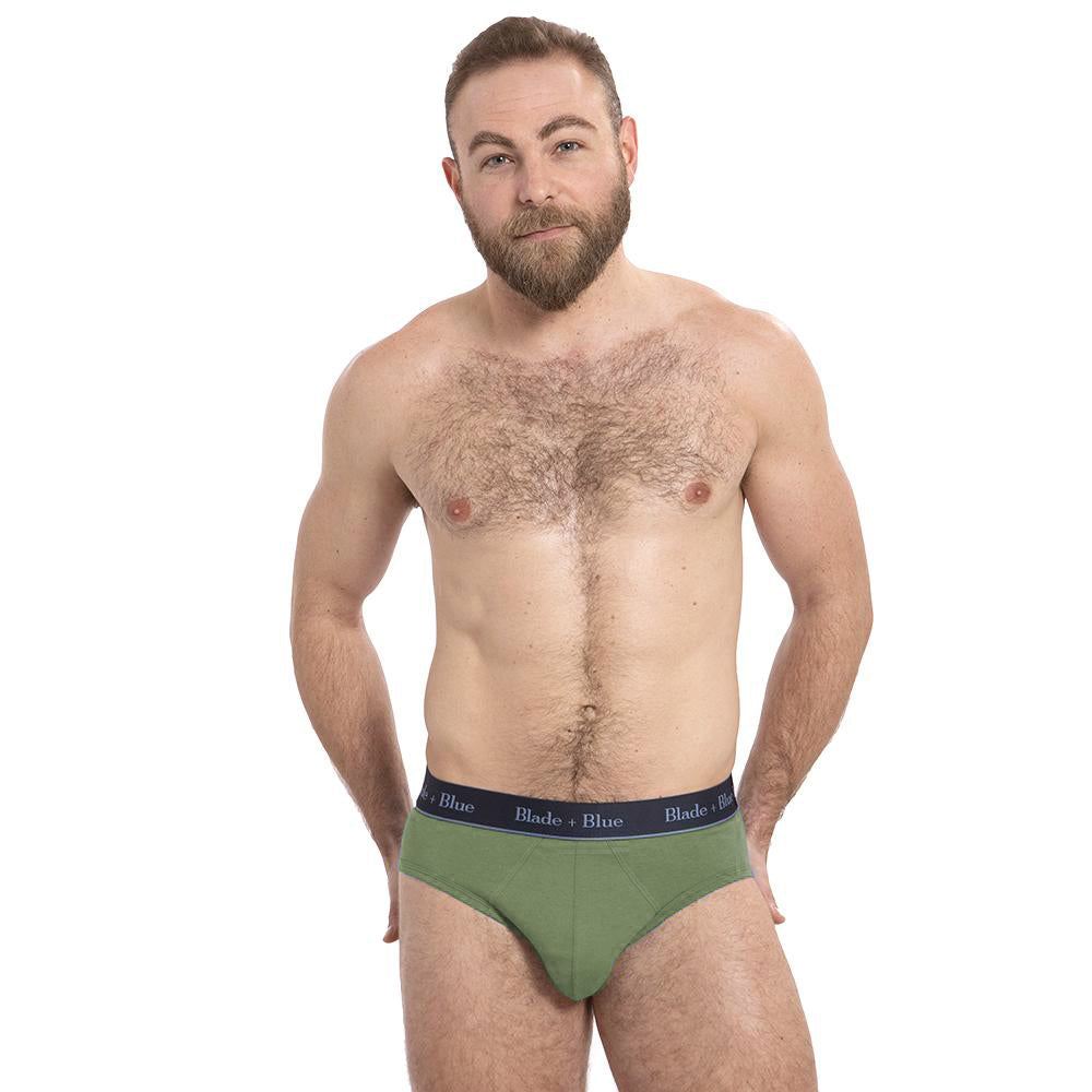 NEW COLOR Grassy Green Low Rise Brief Underwear