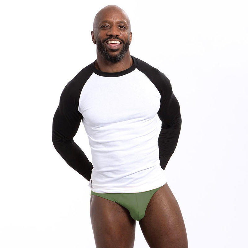 Grassy Green Low Rise Brief Underwear