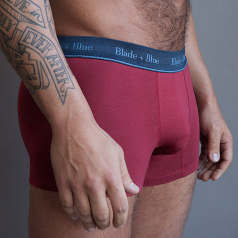 Grey Trunk Underwear