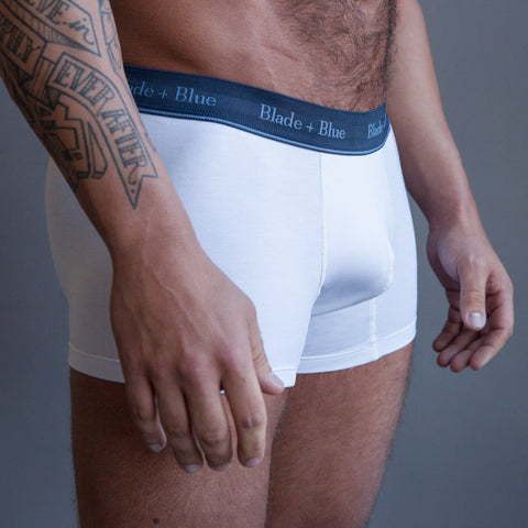 Mint Blue Trunk Underwear