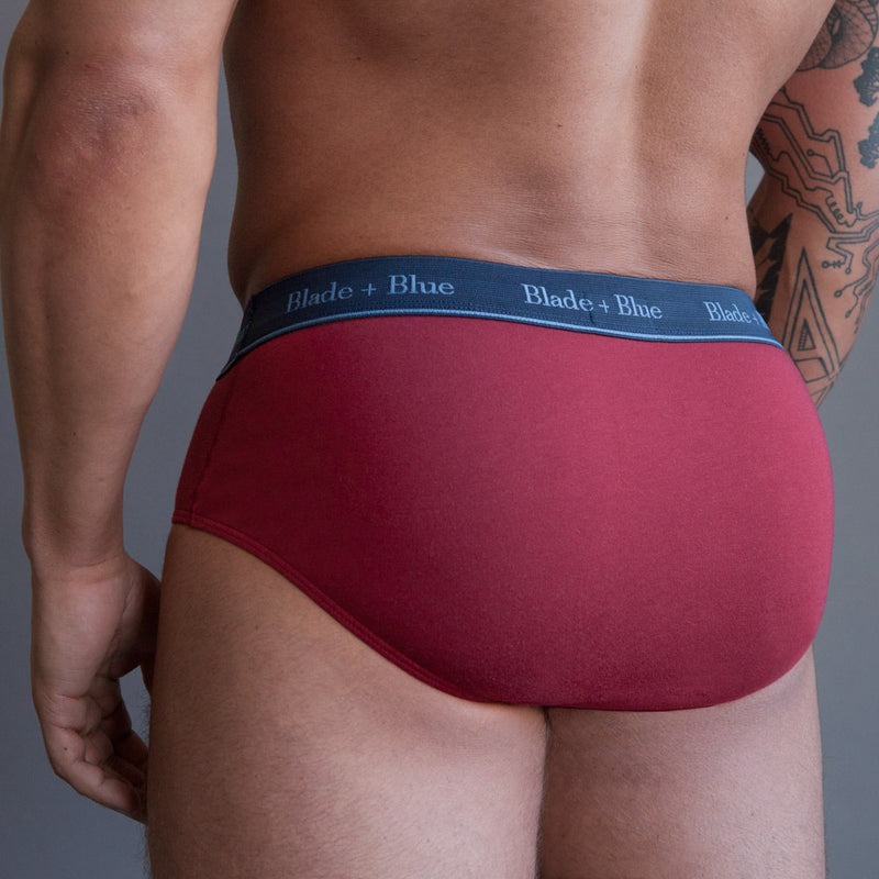 Red Brief Underwear - Size S Available