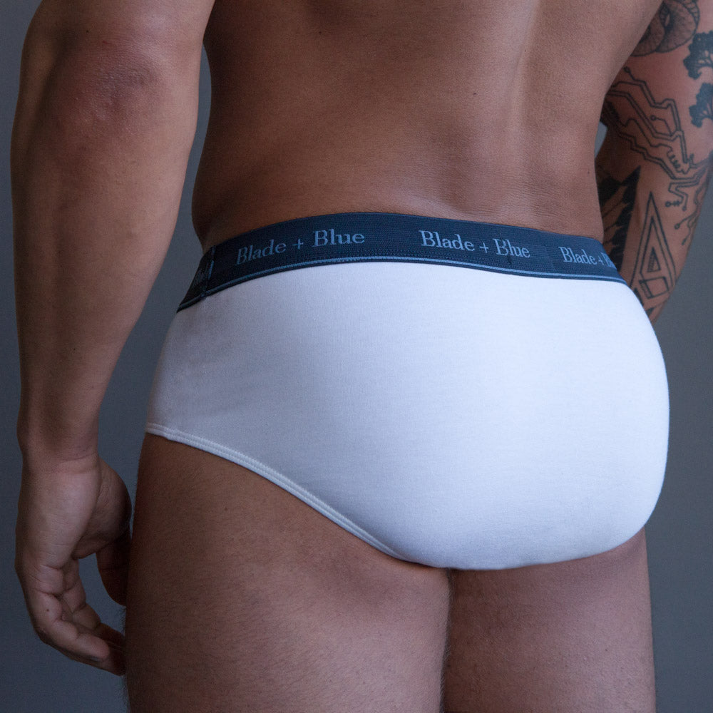 White Brief Underwear Sizes S & M Available