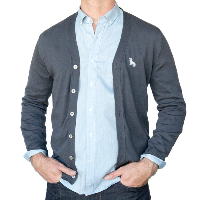 Solid Light Blue Chambray Shirt - Casey Sizes M, XL & XXL Available