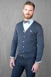 Charcoal Grey Cardigan Sweater
