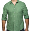 Green Japanese Wave Print Shirt - Kendall