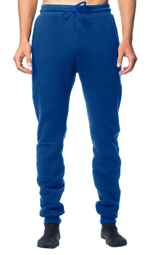 Solid Royal Blue Jogger Sweatpants Made in USA