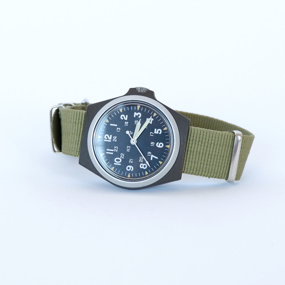 Vintage Stocker & Yale Model 184 Military Watch