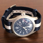 Hamilton Blue Military Field Watch
