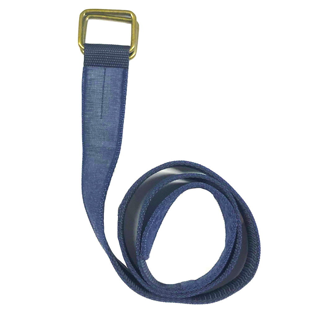 Blue Denim Belt by One Magnificent Beast