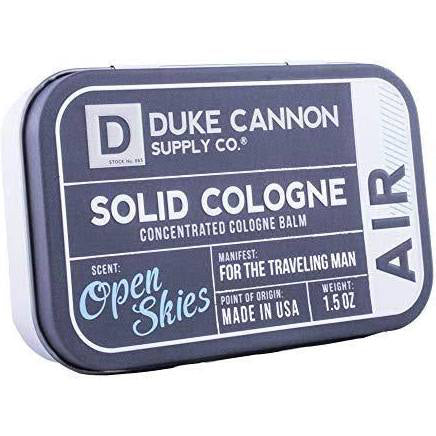Duke Cannon Solid Cologne, Subtle Citrus Scent