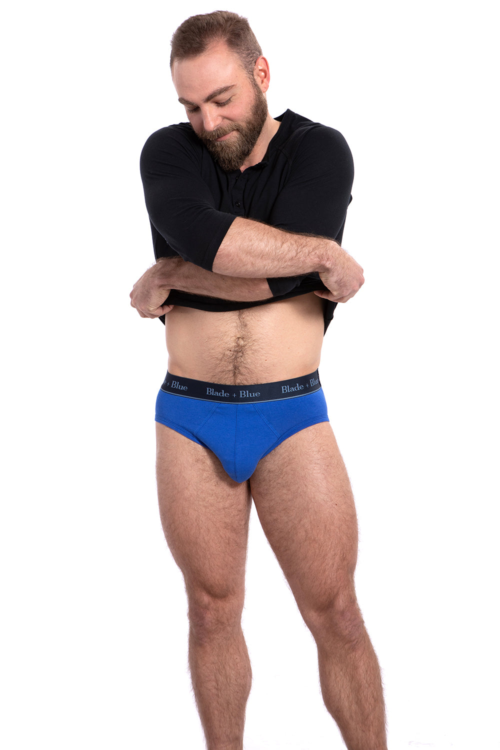 Royal Blue Low Rise Brief Underwear