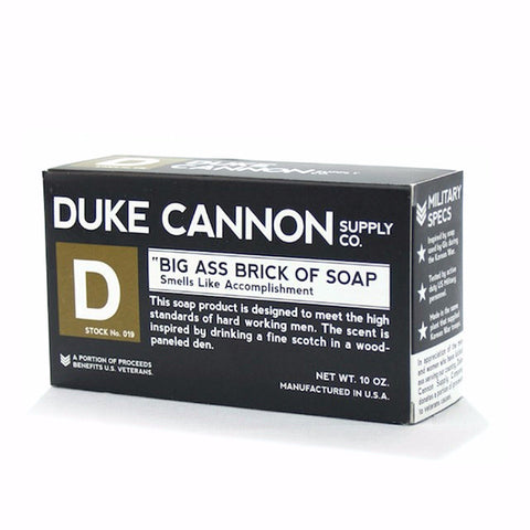 "Duke Cannon Big Ass Brick of Soap - ""Victory"" Hint of Grass Scent"