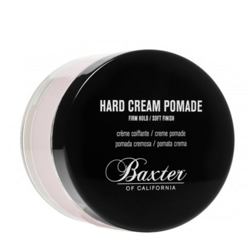 Hard Cream Pomade - Light Hold & Natural Finish