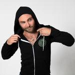 Black & Olive Blade + Blue Crest Hoodie One Piece Size S Available