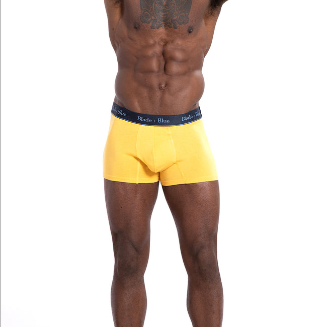 Golden Yellow Trunk Underwear