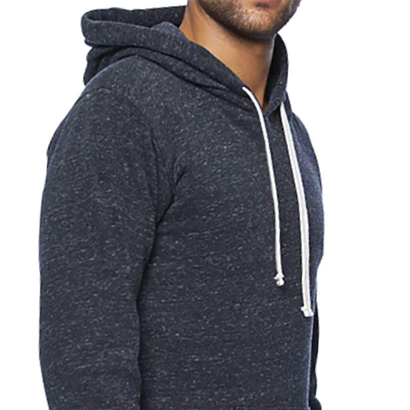 40% OFF 3 DAYS ONLY Charcoal Marled Popover Hooded Fleece Sweatshirt - Made in USA Sizes S & M Available