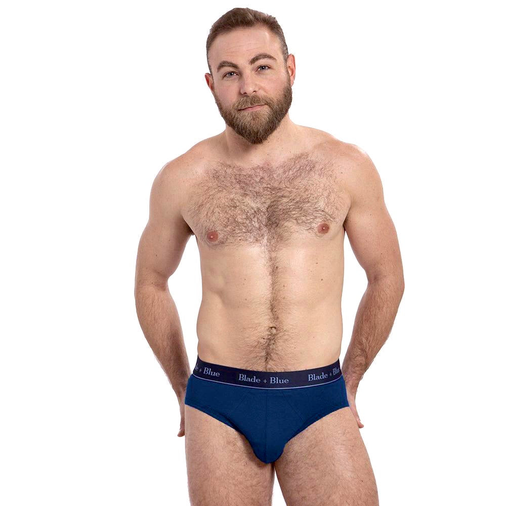 NEW COLOR Navy Blue Low Rise Brief Underwear