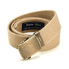 Khaki Cotton Web Military Belt