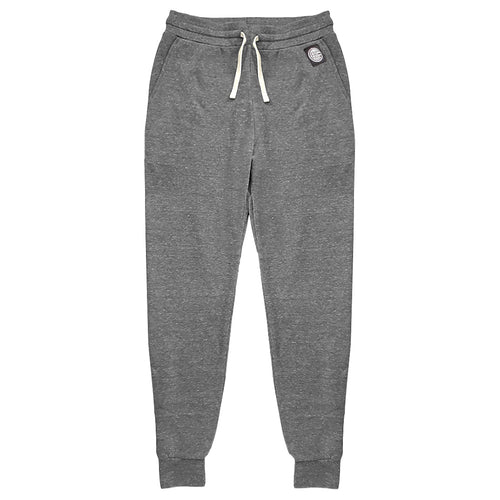 Vintage Grey Marled Jogger Sweatpants - Made in USA
