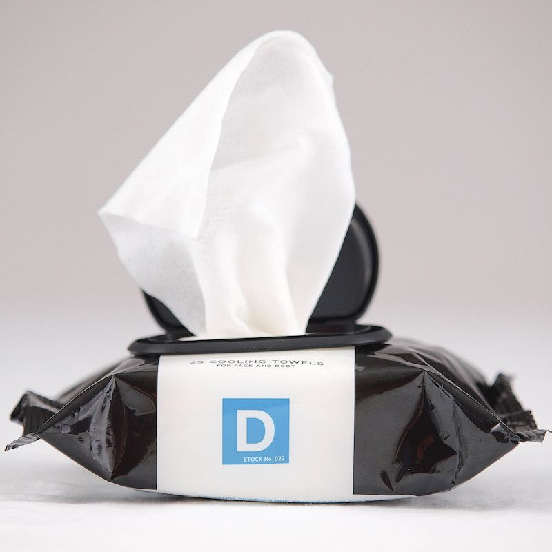 Duke Cannon Cooling Field Towel Wipes