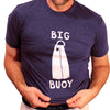 Provincetown Purple Heather Big Buoy Tee Shirt - One Piece Size S Available