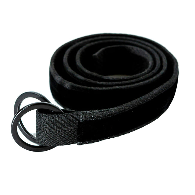 Black Velvet Belt by One Magnificent Beast
