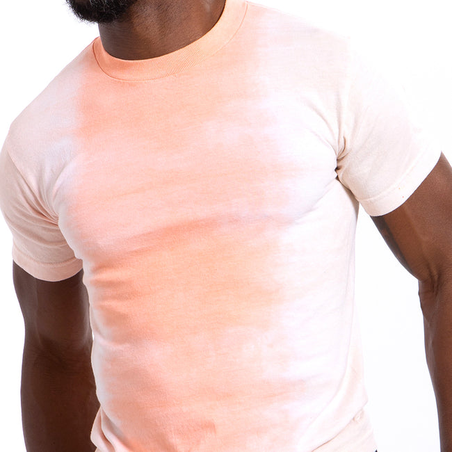 Orange & Pink Gradient Tie Dye Tee