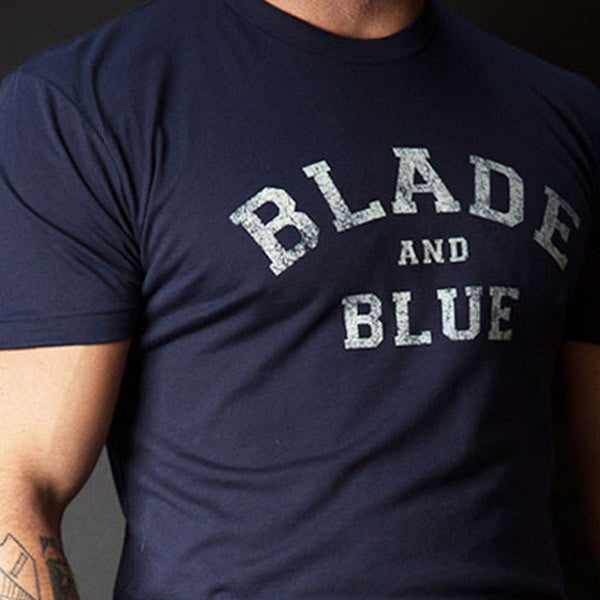 Navy Blue Blade + Blue Tee Sizes S & M Available
