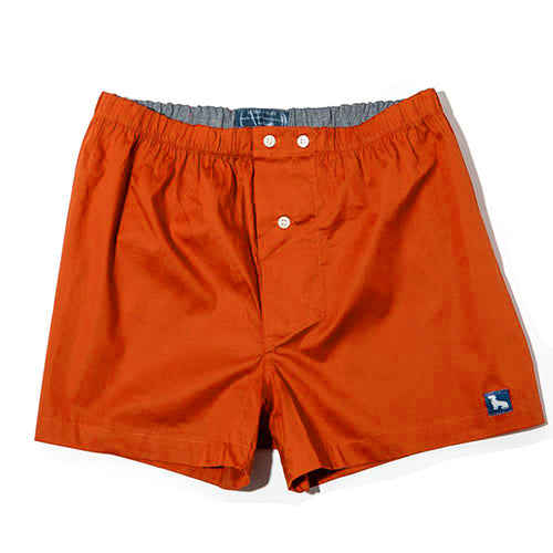 Solid Bright Orange Boxer Short - Buckner Size L Available