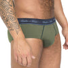 Olive Green Classic Brief Underwear
