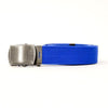 Royal Blue Cotton Web Military Belt