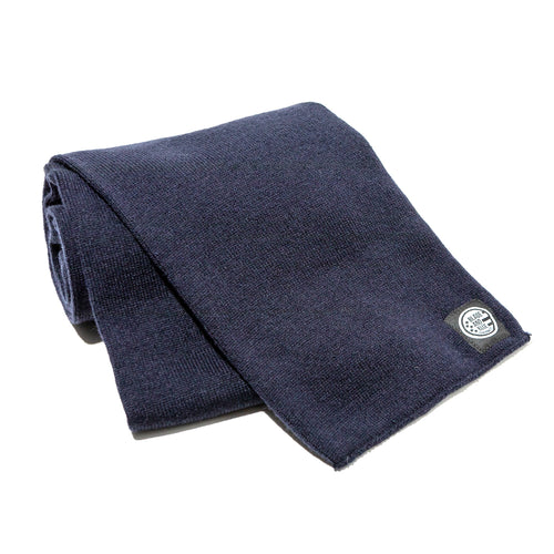 Solid Navy Scarf