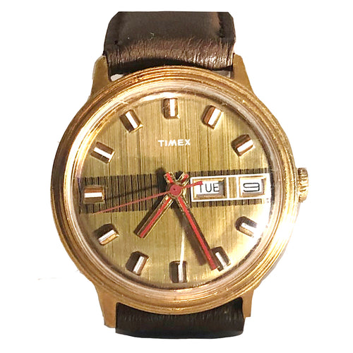 Vintage 1974 Timex Viscount Automatic Watch