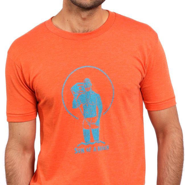 Provincetown Orange 'Sun Of A Beach' Lifeguard Tee