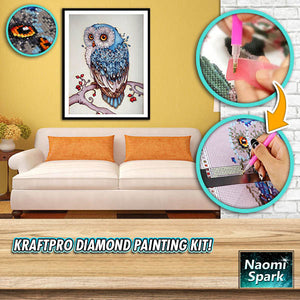 KraftPRO Diamond Painting Kit