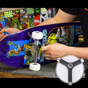 All-in-One Skateboard Y Tool