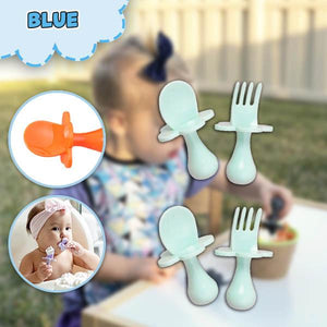 [PROMO 30% OFF] LilGrasp Baby Utensils