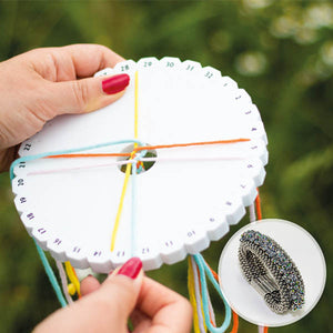 Crafty+ Kumihimo Braiding Disk