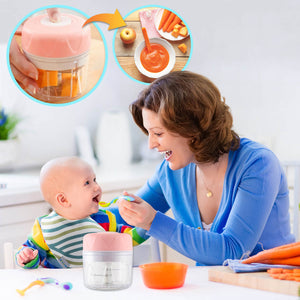 Portable Baby Food Grinder