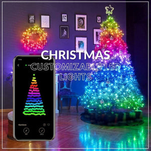 Christmas Customizable LED Lights