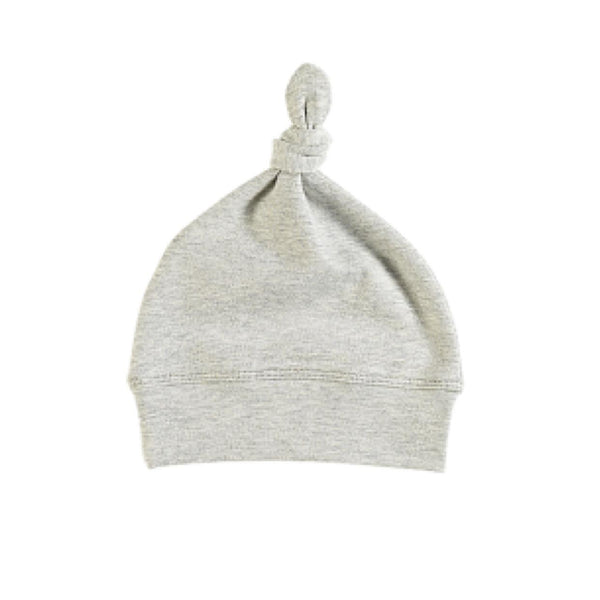 Romsey Grey Marle Organic Knot Hat